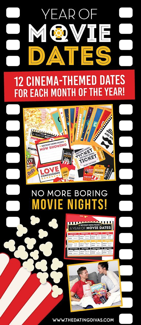 A Year Of Date Night Movie Ideas From Diy Creative Ideas