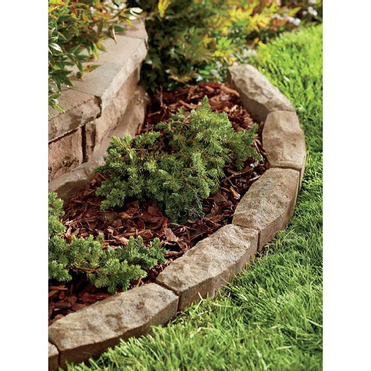 Landscaping Edging Stones Lowes : Allen roth cassay in h l ashland chisel
