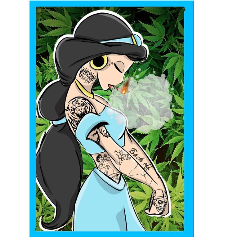 disney princesses smoking weed