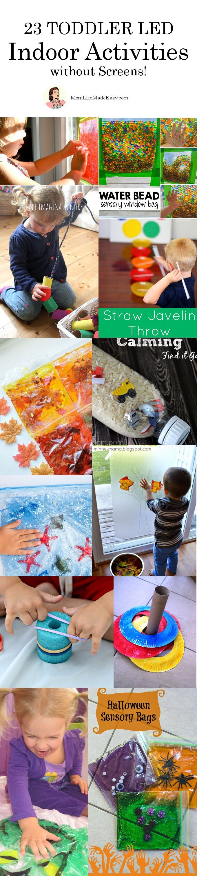 23 Toddler Led Activities without Screens - Mom Life Made Easy