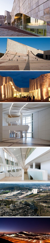 Eisenman Architects, Galicia City of Culture, Santiago de Compestela, Spain