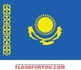 2' x 3' Kazakhstan flag