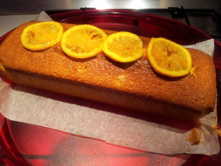 Plum Cake all'Arancia (col Bimby) - Powered by @ultimaterecipe