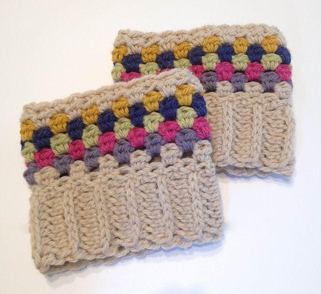 Mejores 141 imágenes de Crochet Slippers,Socks and Boot Cuffs en ...