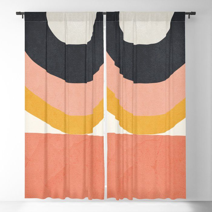 Abstract Art 8 Blackout Curtain By Thindesign Society6 In 2020