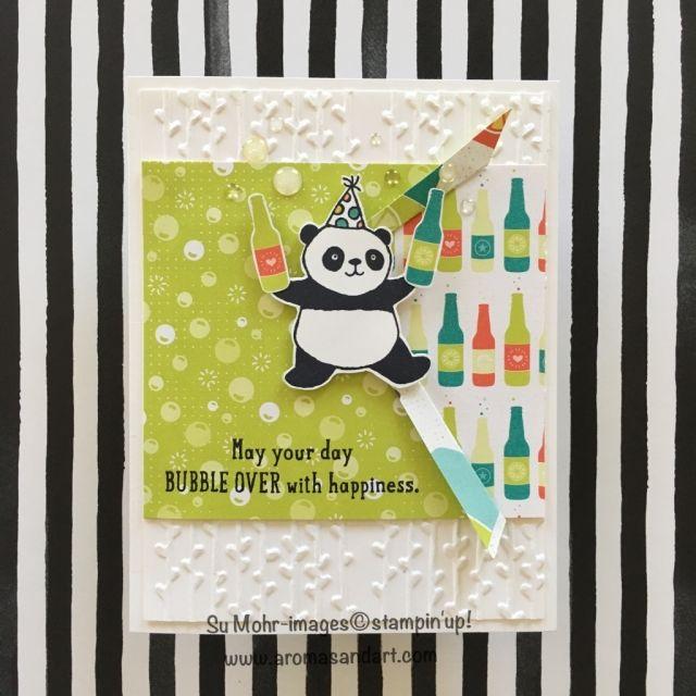 Party Pandas 2018 Sale-A-Bration - Aromas and Art