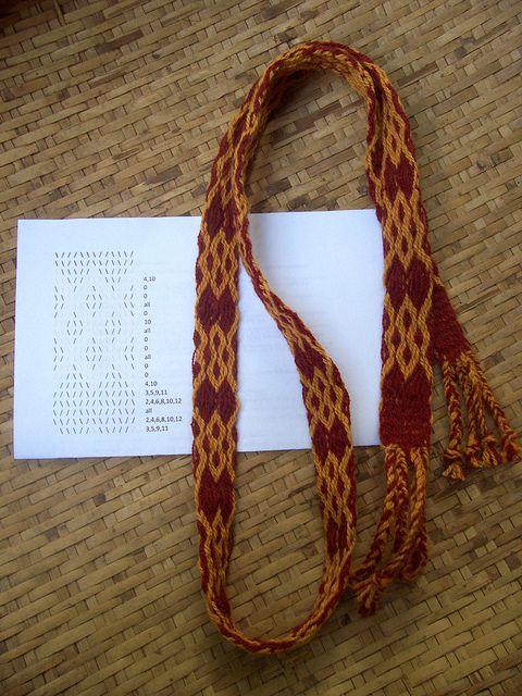 Card Weaving w/pattern
