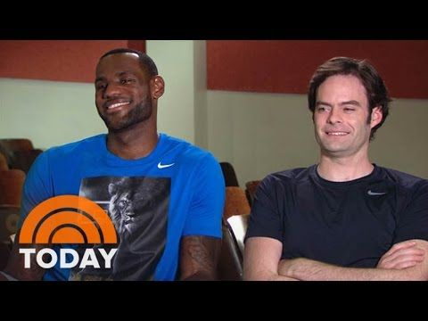 LeBron James On Giving Comedy A Shot With Bill Hader | TODAY - YouTube