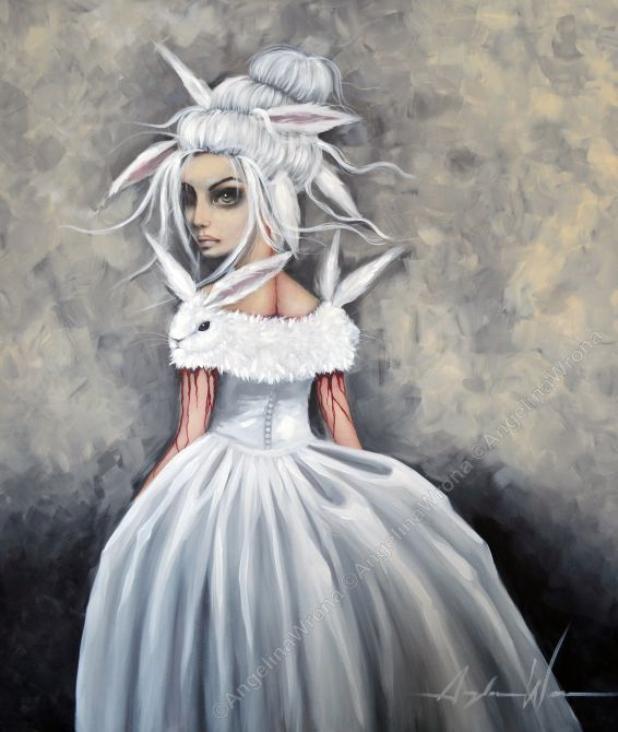 Off to the Ball | The Artwork of Angelina Wrona | Just..... gorgeous. Would love to add this to my collection