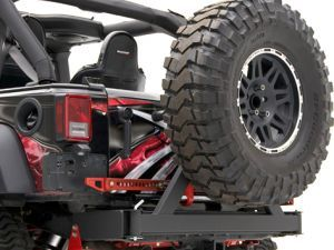 Rancho® RockGEAR™ Rear Off Road Bumper with Tire Carrier for 07-14 Jeep® Wrangler & Wrangler Unlimited JK... The Rear Bumper I want