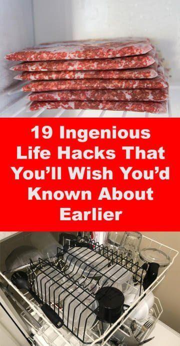 """19 Geniale Hacks im Leben von denen Sie sagen: """"Wa…"""