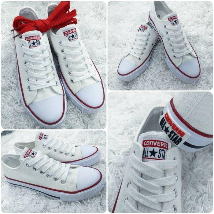 Buty Converse Biale I Czerwone 36 41 Wysylka Warszawa Olx Pl Shoes White Sneaker Sneakers