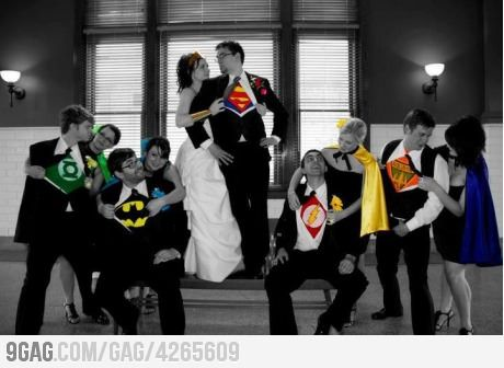 Best wedding photo EVER: Photo Ideas, Stuff, Super Heros, Weddings, Wedding Photos, Superheroes, Best Wedding Photo, Super Heroes, Wedding Pictures