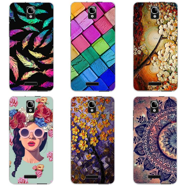 Cover For Alcatel One Touch Pop Star 4G 5070X 5070D Case 5.0 inch Painted TPU Soft Silicone Phone Case For Alcatel OT 5070 Gel