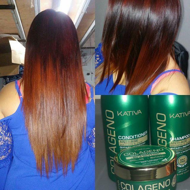 Θεϊκά μαλλιά με τις σειρές περιποίησης Kativa Natural Η νέα σειρά Kativa Natural Colageno Anti-Age είναι μια φόρμουλα, πλούσια σε πρωτεΐνες που ενισχύει τους φυσικούς πόρους , αναζωογονεί και αναδομεί τα μαλλιά φυσικά και ανακτά τις χαμένες πρωτεΐνες και τα λιπίδια. Η επίτευξη ενός υγιούς, λαμπερού γεμάτου όγκου μαλλιού φαίνεται αμέσως μετά τη χρήση του. Οί δικές σας φωτογραφίες!