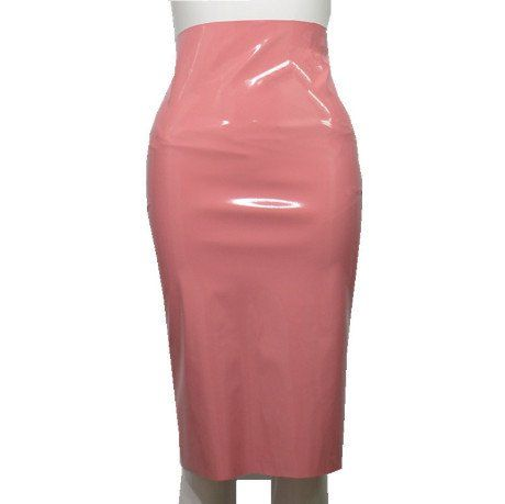 MAUVE SKIRT HIGH WAIST