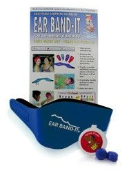 Ear Band-It® w/ Pair of Original Putty Buddies® Ear Plugs $15