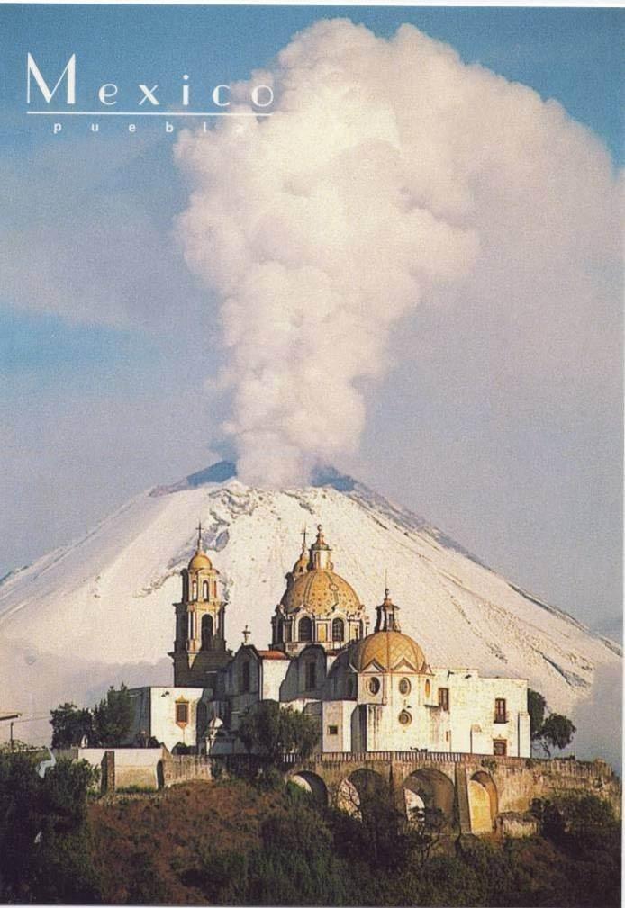 Volcán Popocatepetl, Puebla. México.