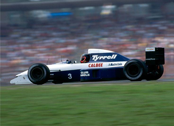 Olivier Grouillard - Tyrrell 020B - 1992 - German GP (Hockenheim) [2122x1535]