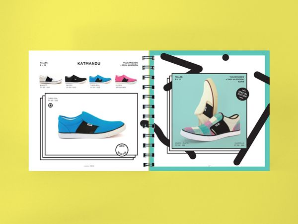 Catalogue PONY SS 2014 on Behance