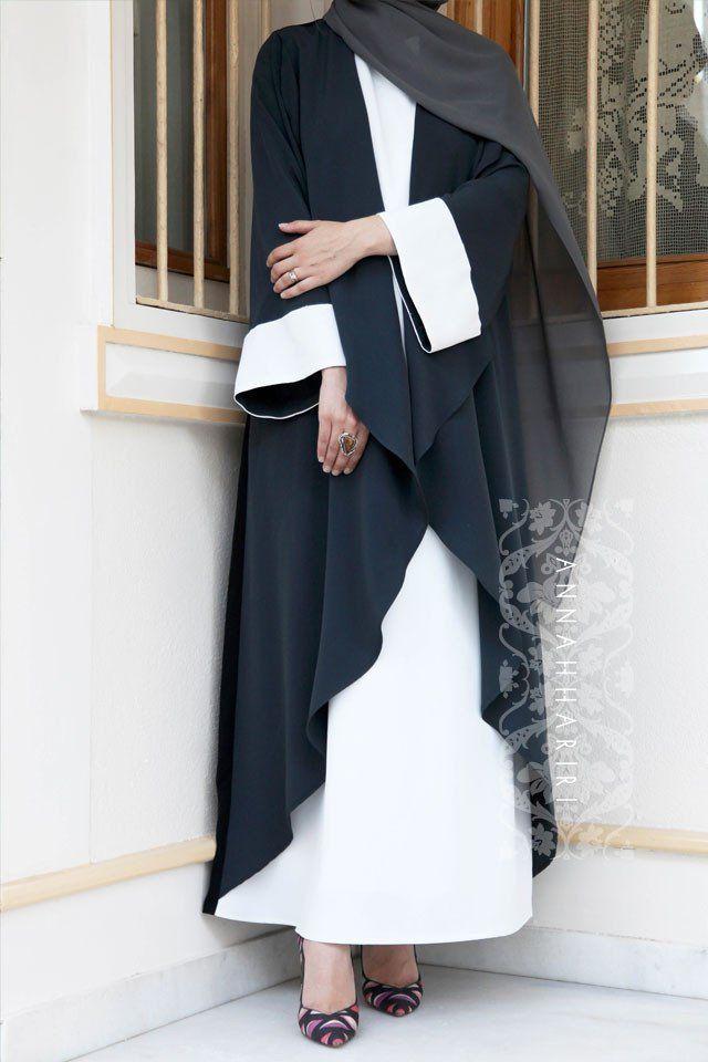 3 colour abaya dress Dubai Style Abaya, light abaya, Eid Outfit Idea, Hijab