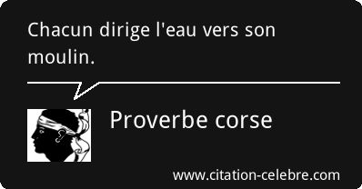 Proverbe corse