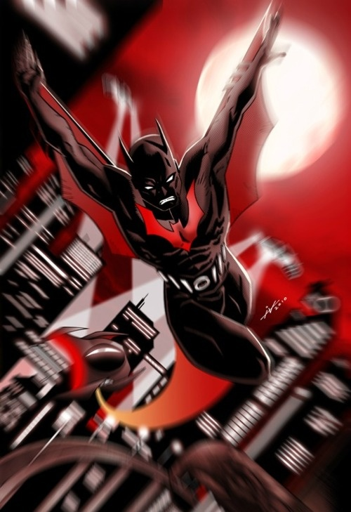 Terry McGinnis as the future Batman
