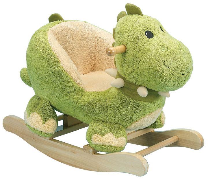 Rockimals.com   Plush Rocking Dinosaur With Seat, $119.99 (http://