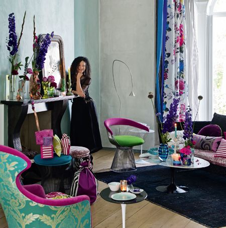 Tricia Guild Promo shot. Designers Guild Fabrics and wallpapers can be purchased through www.janehalldesign.com