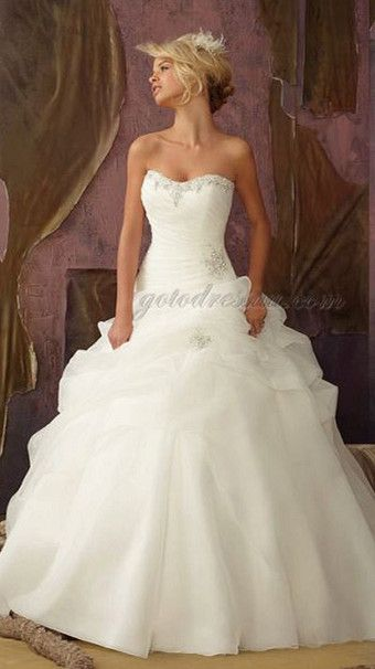 Princess Style Wedding Dress Lace : Princess wedding gowns ball gown dresses and pretty