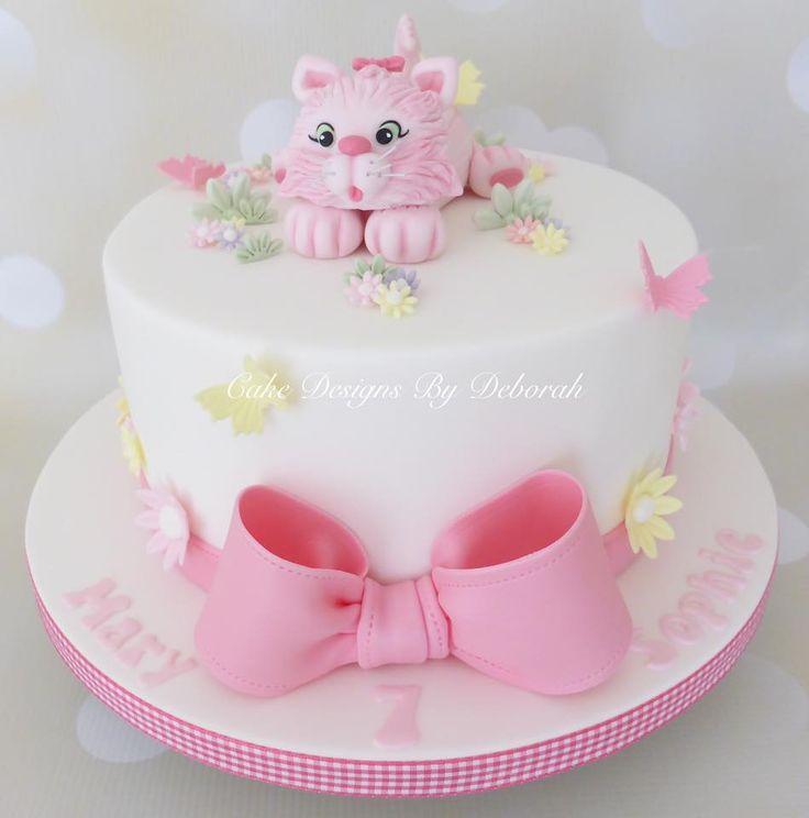Cake Designs By Deborah : 1000+ images about GATOS EN POSTRES Y DULCES on Pinterest ...