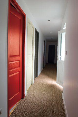Un couloir rythmé de couleurs - Marie Claire Maison