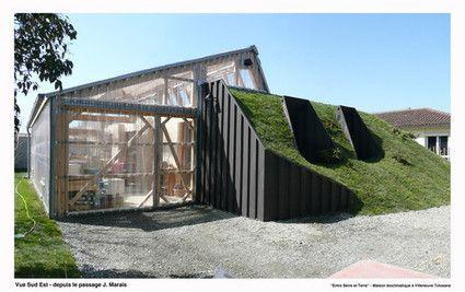 [Inspiration] Maison Bio climatique à Villeneuve Tolosane (31)
