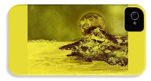 Golden Shore IPhone 4 / 4s Case Printed with Fine Art spray painting image Golden Shore by Nandor Molnar (When you visit the Shop, change the orientation, background color and image size as you wish)
