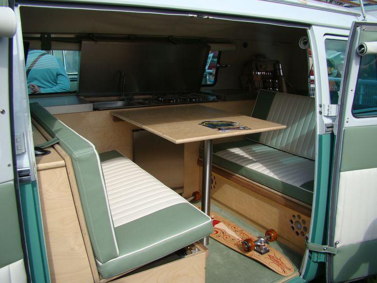 Vw camper interior split screen camper van interiors for Vw camper van interior designs
