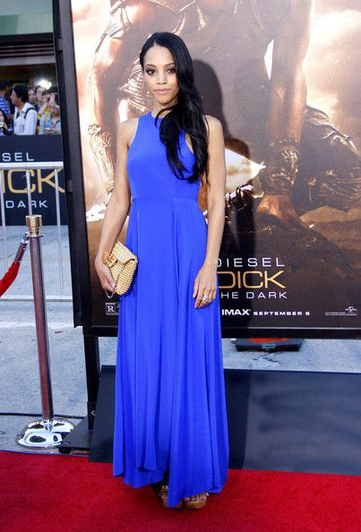 Bianca Lawson at the Los Angeles premiere of 'Riddick' held at the Regency Village Theatre in Westwood, Los Angeles. (August 28, 2013)