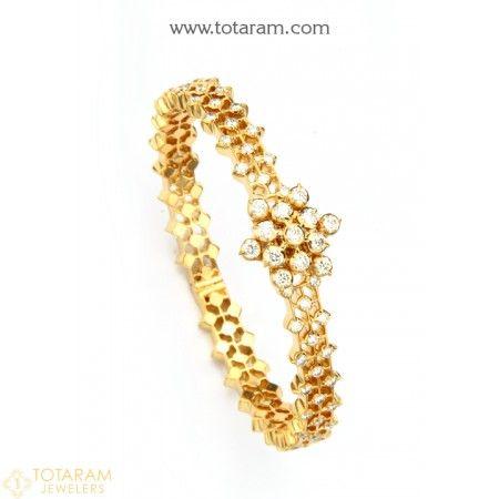 486 best Indian Diamond Jewelry images on Pinterest 18k gold Big