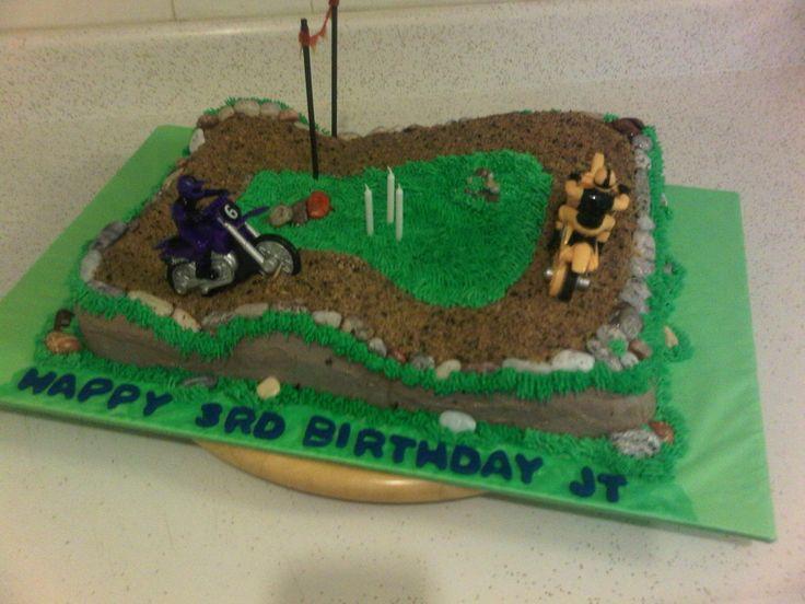 Cake Decorating Dirt Bike Track : Dirt Bike Race Track Cakes Pin Motocross Birthday Race ...