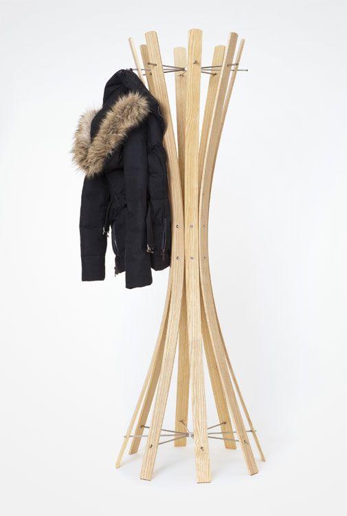 Teak Holz Garderobe Garderobenständer Kleiderständer ~ 1000+ images about Garderoben Design on Pinterest  Hangers, Wooden