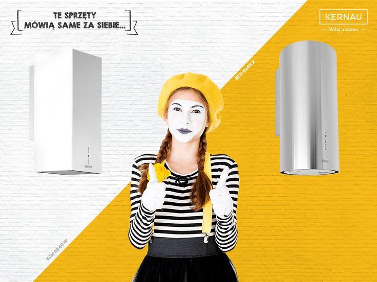 Prostokąt czy koło :)? Dopasuj okap do kuchni swoich marzeń!  ♥♥ http://bit.ly/Kernau_KCH0240W ♥♥ http://bit.ly/Kernau_KCH0140X
