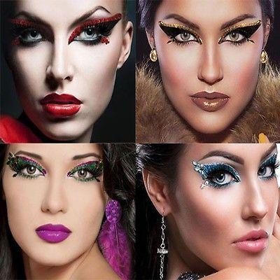 Sexy Cleopatra Greek Egyptian Roman Goddess Costume Crystal Eye Halloween Makeup