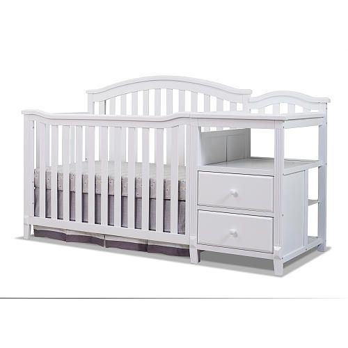 "Sorelle Berkley Crib and Changer - White - Babies""R""Us"