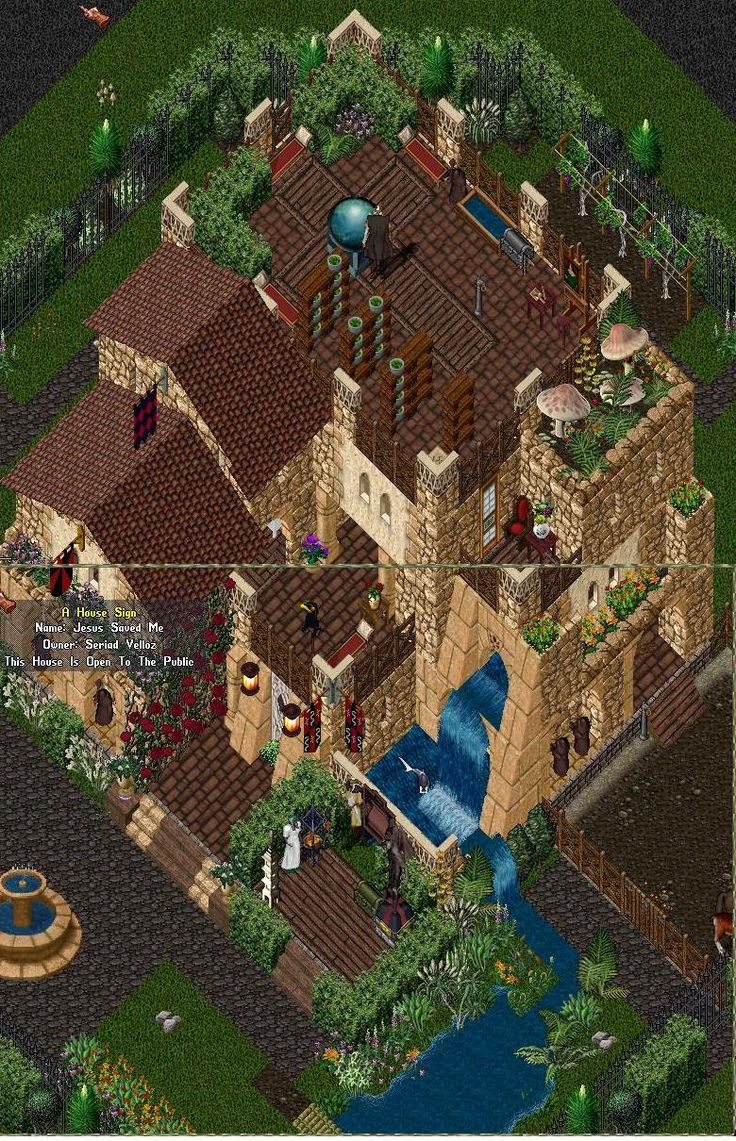 Ultima online house decorating ideas for players.