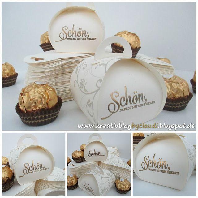 Schön, dass du mit uns feierst! Goodies für die goldene Hochzeit!