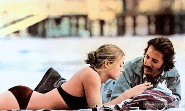 Straight Time - Publicity still of Dustin Hoffman & Theresa Russell