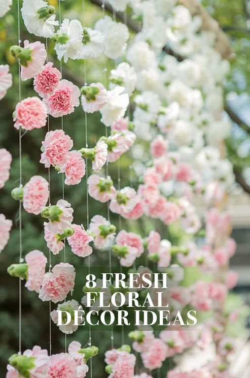 Adding an undeniable wow factor, brides everywhere are incorporating new and interesting ways to use blooms into their Big Day. Take a look at the best of the best.