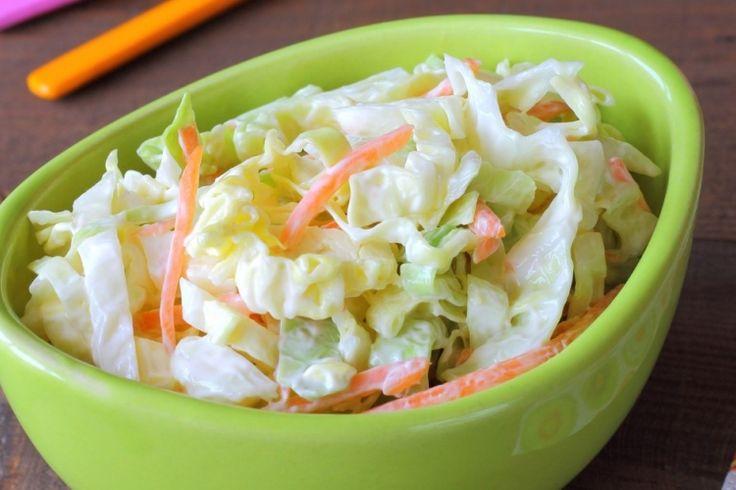 La salade de chou crémeuse