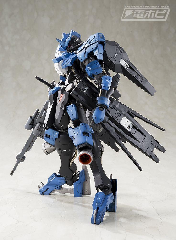 Custom Build: 1/100 Full Mechanics Gundam Vidar [Dengeki Hobby Web] - Gundam Kits Collection News and Reviews