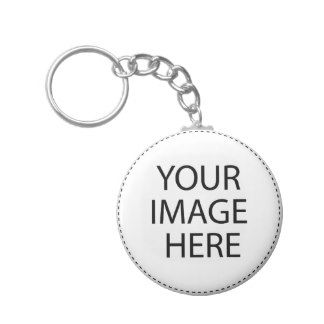 Template Blank ..  Add your image text here Basic Round Button Keychain