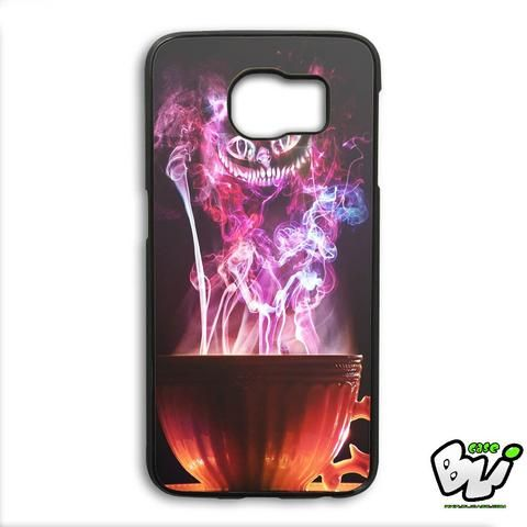 Cheshire Tea Cup Samsung Galaxy S6 Edge Plus Case